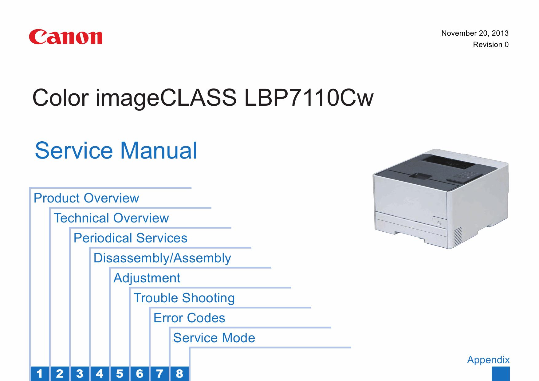 canon lbp7100c 7110c инструкция